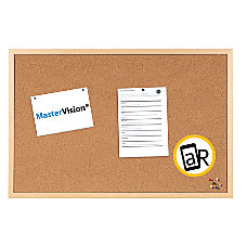 MasterVision Super Value Series Cork Board