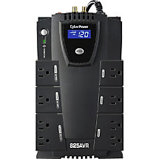 CyberPower CP825AVRLCD G 8 Outlet Uninterruptible