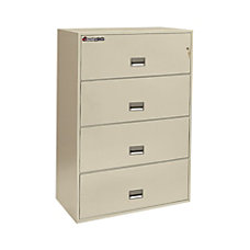 Sentry Safe 4 Drawer Lateral Fire