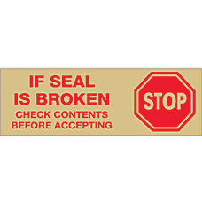 Tape Logic Stop If Seal Is