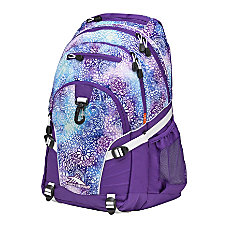 High Sierra Loop Backpack Deep PurpleFlower