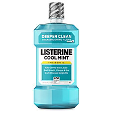 Johnson Johnson Cool Mint Listerine Antiseptic