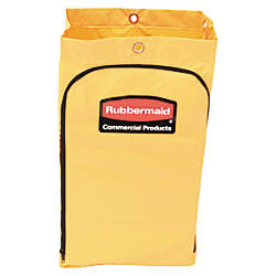 Rubbermaid Zippered Vinyl Cleaning Cart Bag