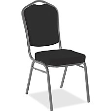 Iceberg Banquet Chair Black Seat Black