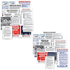 ComplyRight Federal Contractor Posters Bundle Bilingual