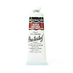 Grumbacher P202 Pre Tested Artists Oil