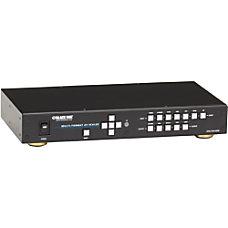 Black Box Multi Format AV Scaler