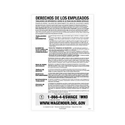 ComplyRight Federal Contractor Posters Spanish Notice