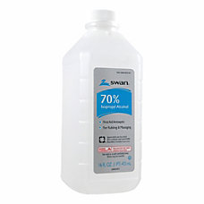 Swan 70percent Rubbing Alcohol 16 Oz