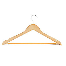 Honey Can Do Hangers Suit Maple