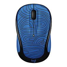 Logitech M325c Wireless Mouse Deep Blue