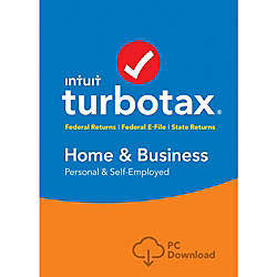 TurboTax Home Business Federal State 2016
