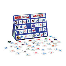 Playmonster Building Words Tabletop Pocket Chart