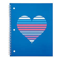 Divoga Spiral Notebook Hearts Collection 8