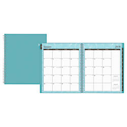 Blue Sky Monthly Planner 8 x