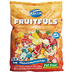 Assorted Fruit Filled Candies 5 Lb