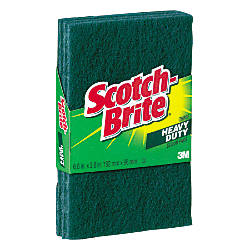 Scotch Brite Scour Pads Green Pack