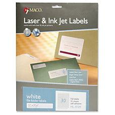 MACO Laser Ink Jet File Folder