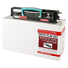 MicroMICR MICR TLN 342 Lexmark 24015SA
