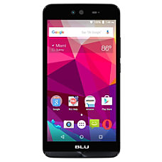 BLU Dash X Cell Phone Black