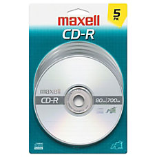 Maxell 40x CD R Media