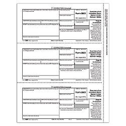 ComplyRight 3921 InkjetLaser Tax Forms Employee