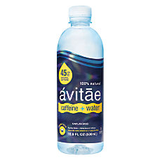 vitae Caffeinated Water 45mg Caffeine 169