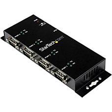 StarTechcom 4 Port USB to DB9