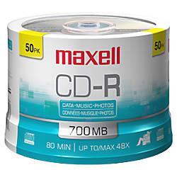 Maxell CD R Media