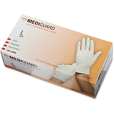MediGuard Non Sterile Powdered Latex Exam