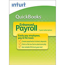 QuickBooks® Enhanced Payroll 2013, Traditional Disc