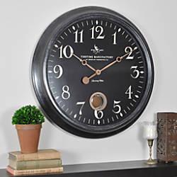 FirsTime Varenna Wall Clock 24 Distressed