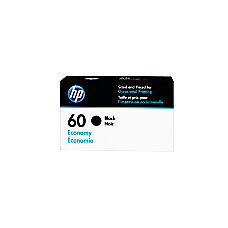 HP 60 Economy Yield Black Ink