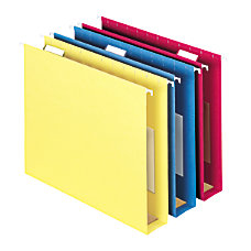Smead Hanging Box Bottom Folders With