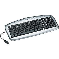 Tripp Lite USB Multimedia Keyboard Notebook