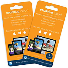 Pogoplug Cloud Storage Unlimited 1 Year