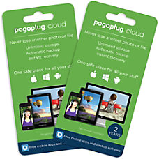 Pogoplug Cloud Storage Unlimited 2 Years