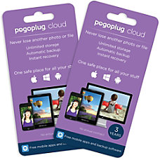 Pogoplug Cloud Storage Unlimited 3 Years
