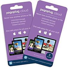 Pogoplug Cloud Storage Unlimited 3 Years