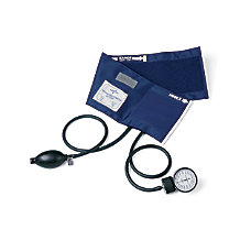 Medline PVC Handheld Aneroid Infant Black