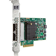 HP H221 PCIe 30 SAS Host