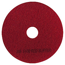 3M 5100 Buffer Pads 12 Red