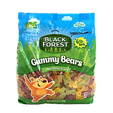 Black Forest Gummy Bears 6 Lb