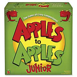 Apples to Apples Mattel Junior Party