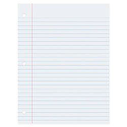 Pacon Wide Ruled Filler Paper 100