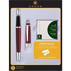 Cross Bailey Fountain Pen Medium Point