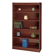 Safco Square Edge Veneer Bookcase 4