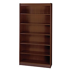 Safco Square Edge Veneer Bookcase 6