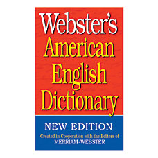 Federal Streets Press Websters American English