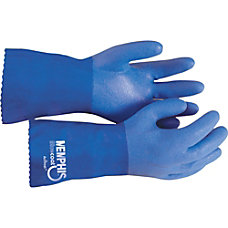 R3 Safety Blue Coat Seamless Gloves